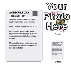 Civilizacion4 By Pablo Aranda Heras   Multi Purpose Cards (rectangle)   855ag1vmynd5   Www Artscow Com Back 51