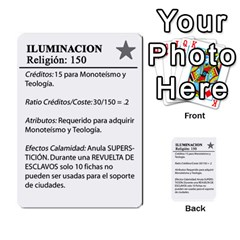Civilizacion4 By Pablo Aranda Heras   Multi Purpose Cards (rectangle)   855ag1vmynd5   Www Artscow Com Back 53