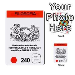 Civilizacion4 By Pablo Aranda Heras   Multi Purpose Cards (rectangle)   855ag1vmynd5   Www Artscow Com Front 2