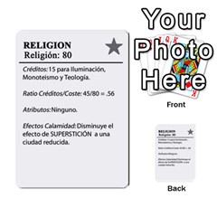 Civilizacion4 By Pablo Aranda Heras   Multi Purpose Cards (rectangle)   855ag1vmynd5   Www Artscow Com Back 21