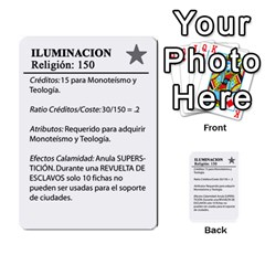 Civilizacion4 By Pablo Aranda Heras   Multi Purpose Cards (rectangle)   855ag1vmynd5   Www Artscow Com Back 23
