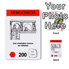 Civilizacion4 By Pablo Aranda Heras   Multi Purpose Cards (rectangle)   855ag1vmynd5   Www Artscow Com Front 25