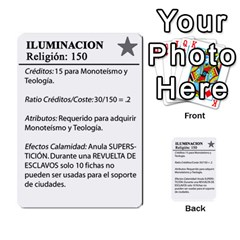 Civilizacion4 By Pablo Aranda Heras   Multi Purpose Cards (rectangle)   855ag1vmynd5   Www Artscow Com Back 45