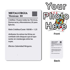 Civilizacion4 By Pablo Aranda Heras   Multi Purpose Cards (rectangle)   855ag1vmynd5   Www Artscow Com Back 49