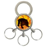 Hellhound 3-Ring Key Chain