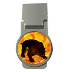 Hellhound Money Clip (Round)