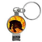 Hellhound Nail Clippers Key Chain