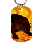 Hellhound Dog Tag (One Side)