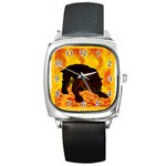 Hellhound Square Metal Watch