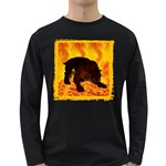 Hellhound Long Sleeve Dark T-Shirt