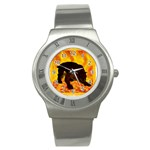 Hellhound Stainless Steel Watch