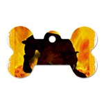 Hellhound Dog Tag Bone (Two Sides)