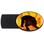 Hellhound USB Flash Drive Oval (1 GB)