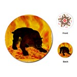 Hellhound Playing Cards (Round)