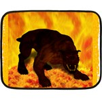 Hellhound Mini Fleece Blanket(Two Sides)