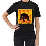 Hellhound Women s Black T-Shirt
