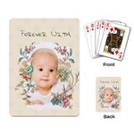 baby - Playing Cards Single Design