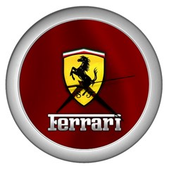 Red Ferrari Wall Clock by ahmshu8C