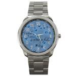 Clay watch - Sport Metal Watch