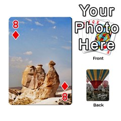 Turkey Cards By Nancyb   Playing Cards 54 Designs   G5bcbu253qjc   Www Artscow Com Front - Diamond8