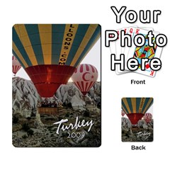 Turkey Cards By Nancyb   Playing Cards 54 Designs   G5bcbu253qjc   Www Artscow Com Back