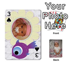 Card By Asya   Playing Cards 54 Designs   C4ywy14t6rt3   Www Artscow Com Front - Spade3