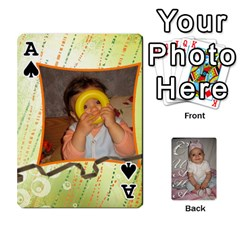Ace Card By Asya   Playing Cards 54 Designs   C4ywy14t6rt3   Www Artscow Com Front - SpadeA