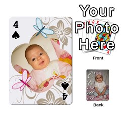 Card By Asya   Playing Cards 54 Designs   C4ywy14t6rt3   Www Artscow Com Front - Spade4