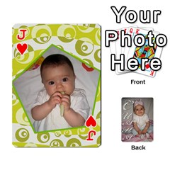 Jack Card By Asya   Playing Cards 54 Designs   C4ywy14t6rt3   Www Artscow Com Front - HeartJ