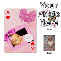 Ace Card By Asya   Playing Cards 54 Designs   C4ywy14t6rt3   Www Artscow Com Front - HeartA