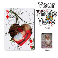 Card By Asya   Playing Cards 54 Designs   C4ywy14t6rt3   Www Artscow Com Front - Diamond5