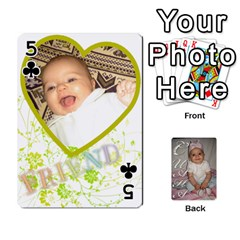 Card By Asya   Playing Cards 54 Designs   C4ywy14t6rt3   Www Artscow Com Front - Club5