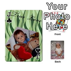Jack Card By Asya   Playing Cards 54 Designs   C4ywy14t6rt3   Www Artscow Com Front - ClubJ