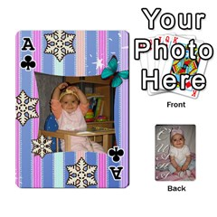 Ace Card By Asya   Playing Cards 54 Designs   C4ywy14t6rt3   Www Artscow Com Front - ClubA
