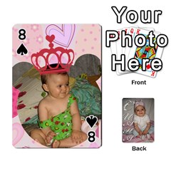 Card By Asya   Playing Cards 54 Designs   C4ywy14t6rt3   Www Artscow Com Front - Spade8
