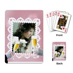 wedding - Playing Cards Single Design