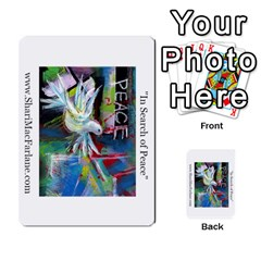 Double Side Pocket Portfolio 2 By Alana   Multi Purpose Cards (rectangle)   D95p5kdadisy   Www Artscow Com Back 11