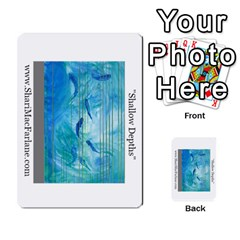 Double Side Pocket Portfolio 2 By Alana   Multi Purpose Cards (rectangle)   D95p5kdadisy   Www Artscow Com Front 12