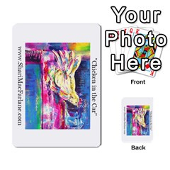 Double Side Pocket Portfolio 2 By Alana   Multi Purpose Cards (rectangle)   D95p5kdadisy   Www Artscow Com Front 13