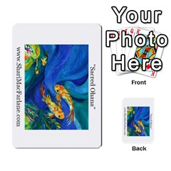 Double Side Pocket Portfolio 2 By Alana   Multi Purpose Cards (rectangle)   D95p5kdadisy   Www Artscow Com Front 15