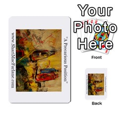 Double Side Pocket Portfolio 2 By Alana   Multi Purpose Cards (rectangle)   D95p5kdadisy   Www Artscow Com Front 25