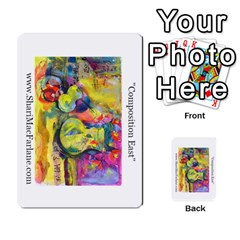 Double Side Pocket Portfolio 2 By Alana   Multi Purpose Cards (rectangle)   D95p5kdadisy   Www Artscow Com Front 28