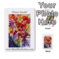 Double Side Pocket Portfolio 2 By Alana   Multi Purpose Cards (rectangle)   D95p5kdadisy   Www Artscow Com Back 38
