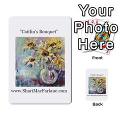 Double Side Pocket Portfolio 2 By Alana   Multi Purpose Cards (rectangle)   D95p5kdadisy   Www Artscow Com Front 39