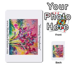 Double Side Pocket Portfolio 2 By Alana   Multi Purpose Cards (rectangle)   D95p5kdadisy   Www Artscow Com Front 43
