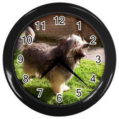 round Wall Clock (Black) by 798090