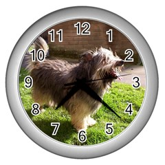 round Wall Clock (Silver) by 798090