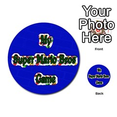 Boys Memory Game By Brookieadkins Yahoo Com   Multi Purpose Cards (round)   Plpu75p0ktrz   Www Artscow Com Back 1