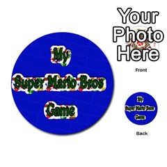 Boys Memory Game By Brookieadkins Yahoo Com   Multi Purpose Cards (round)   Plpu75p0ktrz   Www Artscow Com Front 52