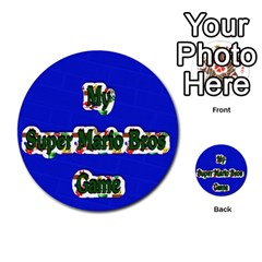 Boys Memory Game By Brookieadkins Yahoo Com   Multi Purpose Cards (round)   Plpu75p0ktrz   Www Artscow Com Front 11